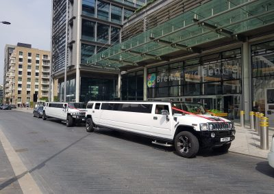Luxury range of Hummer limos for hire in London 2019