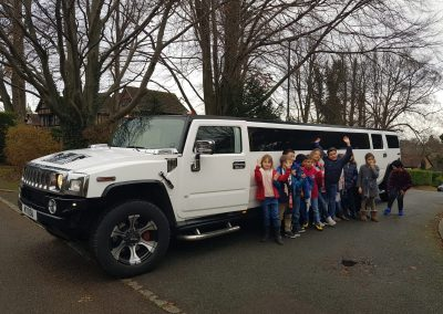 Luxury range of Hummer limos