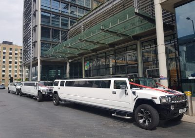Luxury range of Hummer wedding limos for Hire
